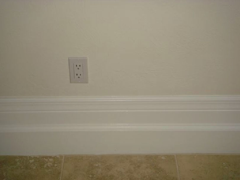Multi Piece Custom Baseboard